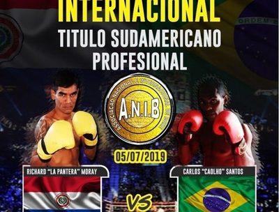 Recluso pelea mañana por el título sudamericano de boxeo