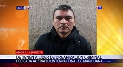 Capturan a jefe de banda de narcotraficantes