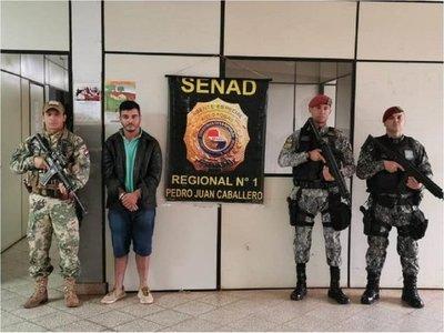 Es expulsado al Brasil narco que se refugiaba en Paraguay