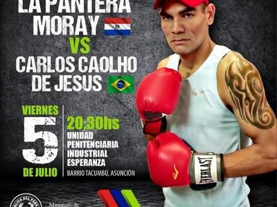 Boxeo de nivel internacional en la cárcel