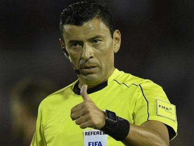 El árbitro de la final de la Copa América