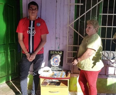 Dos detenidos tras operativo contra el microtráfico en Caaguazú