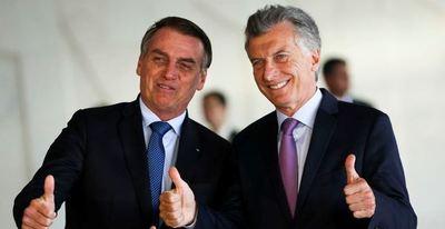 Macri dice que Argentina negocia con Brasil un acuerdo de libre comercio con EEUU y China