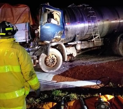 J. Eulogio Estigarribia: Padre e hija fallecieron en accidente de tránsito