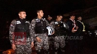 POLICÍA LANZA SEGURIDAD EN ACCIÓN EN LOS BARRIOS