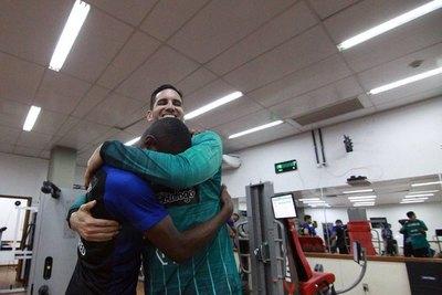 'Gatito', recibido a lo grande en Botafogo