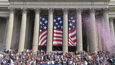 Trump celebró el Día de la Independencia con un discurso nacionalista