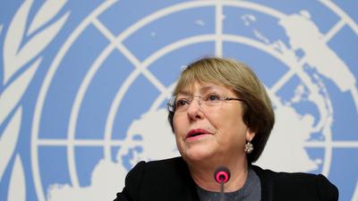 """Michelle Bachelet denuncia """"erosión"""" del estado de Derecho en Venezuela"""