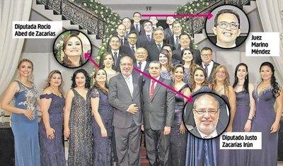 Hija de Lucho Zacarías depositó dinero en cuenta de juez Marino Méndez