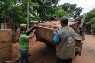 Jornadas solidarias en Asunción a beneficio de damnificados por la inundación