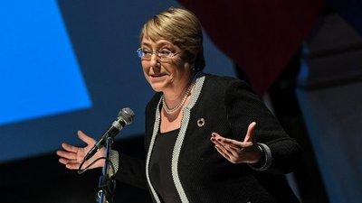"""Si no hay mejoras en Venezuela """"empeorarán las condiciones de vida"""" dice Bachelet"""