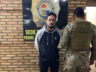 Detienen a ex brazo derecho de Galán en Pedro Juan Caballero