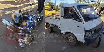 ACCIDENTE DE TRÁNSITO DEJA LESIONADOS EN ENCARNACIÓN.