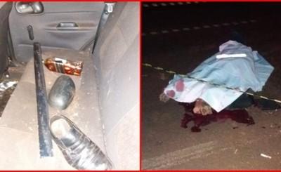 Esquivó a motociclista, volcó y murió