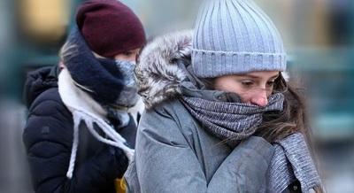 Anuncian temperaturas bajo cero este sábado y domingo