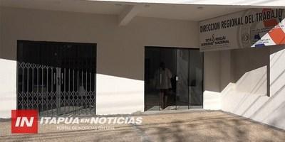 MINISTERIO DE TRABAJO ESTRENA OFICINA EN ENCARNACIÓN.