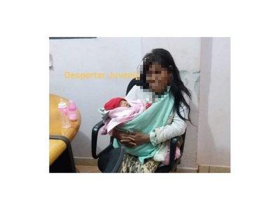 Nativa fue con una beba a la muni y dijo que le entregó una extraña