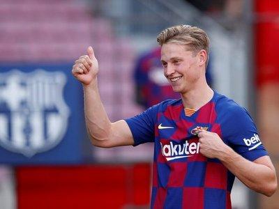 """De Jong: """"Fue muy fácil para mí decidirme a fichar por el Barça"""""""