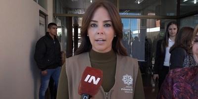 PRIMERA DAMA DESTACA TRABAJOS DE PRIMERA INSTANCIA REALIZADOS EN ITAPÚA