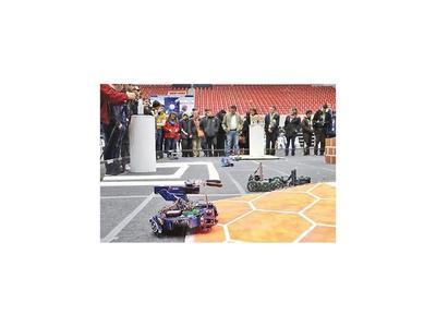 Nacional de robótica: Con 165 proyectos