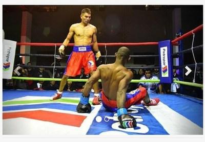 """""""La Pantera"""" Moray campeón del sudamericano de boxeo"""
