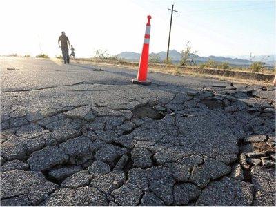 Un nuevo temblor de 7,1 sacude el sur de California