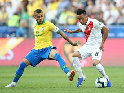 Amplia ventaja de Brasil sobre Perú
