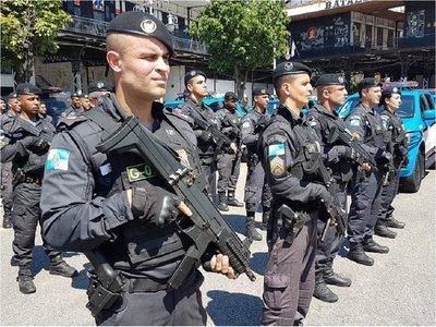Unos 1.000 policías para la final de la Copa América