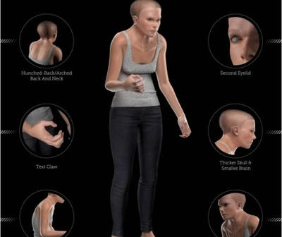 Así lucirá el cuerpo tras el constante uso de celulares