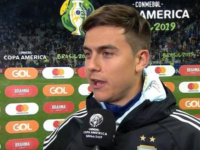 Las palabras de los futbolistas argentinos