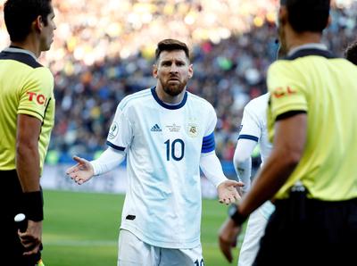 Messi sostiene que a Argentina lo bajaron