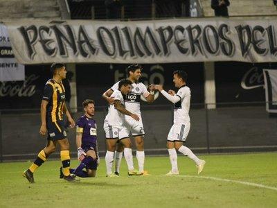 Olimpia vence en penales a Central con Azcona como figura
