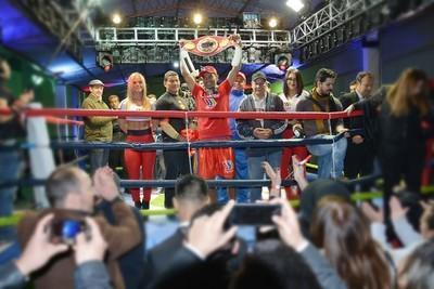 """""""Pantera"""" Moray nuevo Campeón Sudamericano de Boxeo"""