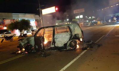 Mega asalto en Liberación, San Pedro