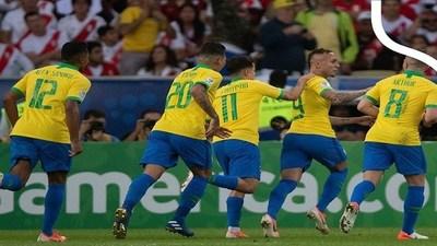 Goles Copa América: Brasil 3-1 Perú · Radio Monumental 1080 AM