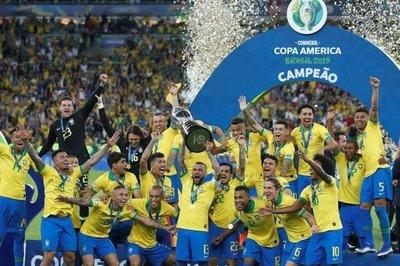 Brasil derrota a Perú y es el nuevo Campeón de América