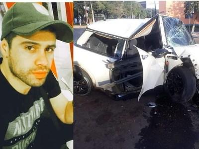 San Ignacio: Otro joven que perdió la vida tras choque