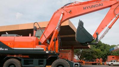 Esta excavadora Hyundai se presenta como la mejor del mercado