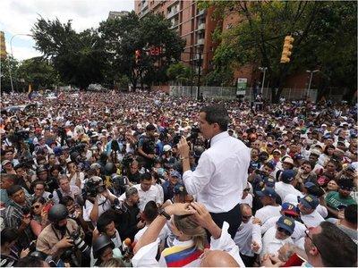 Guaidó invocará el Tratado de Río para sacar a Maduro