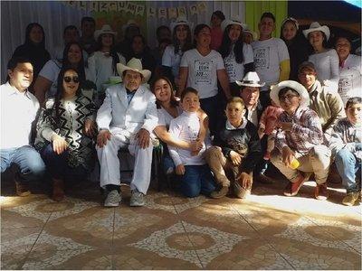 Ex combatiente celebra 101 años de vida en Coronel Oviedo