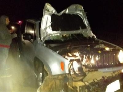 Joven muere tras chocar contra una camioneta en Horqueta