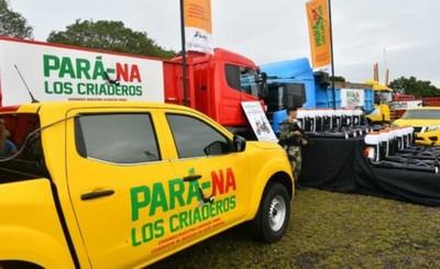 Pará-na Los Criaderos: sigue trabajos de fumigación en el departamento