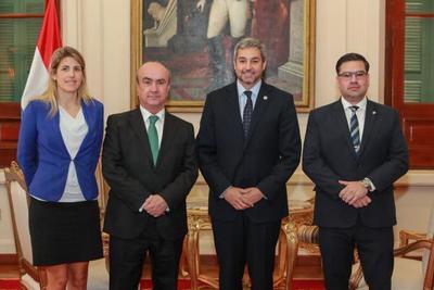 OEI expresa interés de afianzar cooperación con el Paraguay