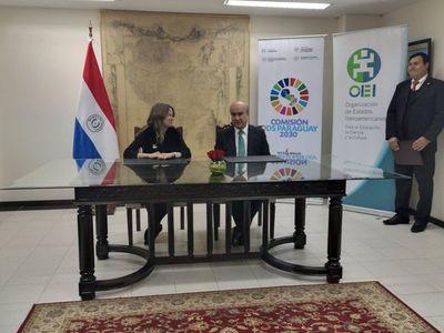 OEI contribuirá con la profesionalización del sector cultural paraguayo