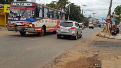 ¿Dirección General de Tránsito no tiene resolución de itinerarios de internos de pasajeros?