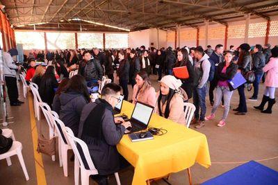 Feria ofreció 400 puestos laborales