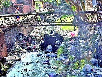 Arroyos colmatados por inconsciencia y tibios controles