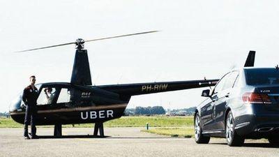 """El """"ubercóptero"""" arranca hoy con su servicio en EE.UU"""