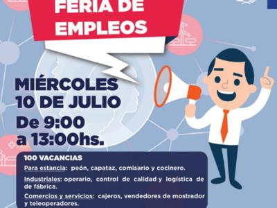 Buscan cubrir 100 vacancias laborales