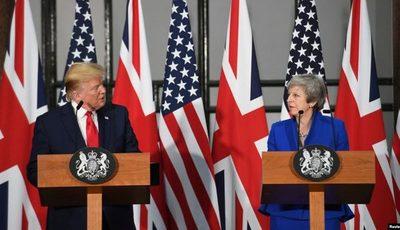 Trump critica a Theresa May tras filtración de memos de embajador en EE.UU.
